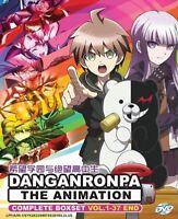 DANGANRONPA The Animation Vol.1-37 End Anime DVD