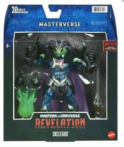 Masters Of The Universe Skeletor Masterverse Revelation SKELEGOD FREE SHIPPING