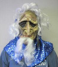 Baba Yaga Ferocious Old Lady Grandmother Supernatural Folklore Adult Mask