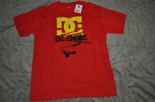DC Shoes Co Grapgic Tee Boys T-Shirt Red/Yellow/Black Choose Size NWT