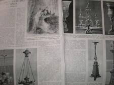 Photo article on Regency Light Fittings by M Jourdain 1943
