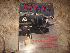 VINTAGE MAGAZINE WINGS BY SENTRY JUN 1987 CARRIER STRIKE FORCE ECM RF-111 RAVEN