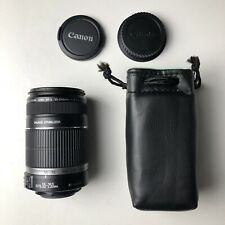 MINT Canon EF-S 55-250mm f/4-5.6 IS Lens w/Caps From Japan TESTED