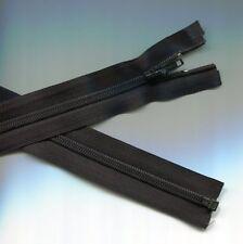 30 inch Black Nylon Coil Separating YKK #5C Zipper New! (Not invisible)
