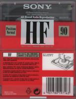 Sony 1x HF 90 Cassette K7 Tape Vierge Blank neuf 1992 Italy