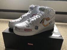 Supreme x NBA x Nike Air Force 1 Mid '07 White Size 11