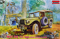Roden 806 - M37 US 3/4 Ton 4x4 Cargo Us Truck WWII - 1/35 scale model kit 137 mm