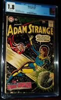 SHOWCASE presents ADAM STRANGE #19 1959 DC Comics CGC 1.8 G-