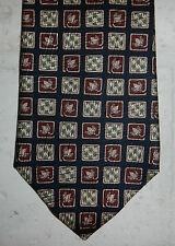 NWT Ermenegildo Zegna Barneys New York Flower Floral Print Mens Silk Necktie Tie