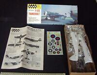 1970s Vintage Hawk Repuiblic P-47D Thunderbolt  1/48 Scale