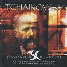 TCHAIKOVSKY: CAPRICCIO ITALIEN, 1812 OVERTURE, SWAN LAKE SUITE ETC – CD (2001)