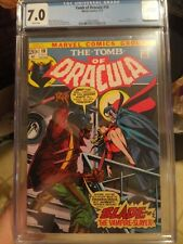 Tomb of Dracula #10 CGC 7.0 WHITE PAGES *1st Appearance of Blade* NEEDS A PRESS!