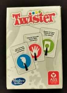 Twister Pocket Kartenspiel Reisespiel von Hasbro Gaming Spiele neuwertig