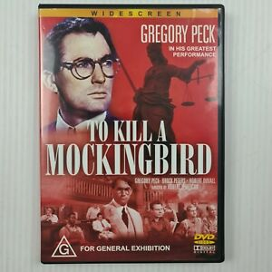 To Kill A Mockingbird DVD - Gregory Peck - All Region - TRACKED POST