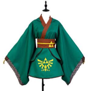 The Legend of Zelda Link Cosplay Costume Skyward Sword Suit Girl Dress Halloween