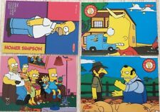 SIMPSONS DOWNUNDER, 1996 TEMPO PROMO CARD SET 1 TO 4