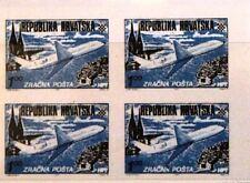 Briefmarken Monaco 1933 137 U Freimarke Flugpost Air Post Airplane Flugzeug Ovp Üd Mlh