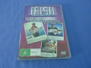 Ifish with Tackle World DVD Season 3.5 Paul Worsteling R0 Free Postage