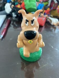 "Burger King Scrappy Doo Hanna Barbera 3"" Windup Toy Vintage 1996 Works Free Ship"
