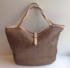 Stella & Dot Riviera Tote Handbag ~ Metallic !