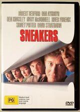 Sneakers (Robert Redford & Dan Aykroyd) DVD (Region 2/4)
