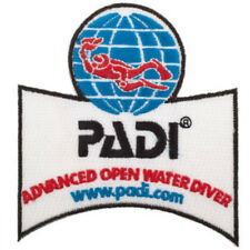 "PADI Advanced Open Water Diver Patch (3.5"") DIY Iron On Badge Diving Applique"
