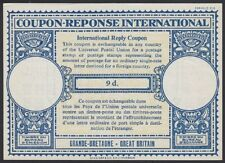 Great Britain, 1954. Int'l Reply Coupon 9d, Mint