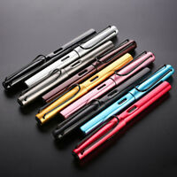 1x Fashion Gift WING SUNG 6359 Aluminum Alloy Fountain Pen Extra Fine Nib 0.38mm
