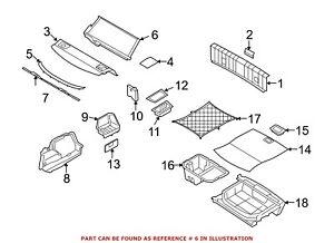 For BMW Genuine Back Glass Sunshade Rear 51469147147