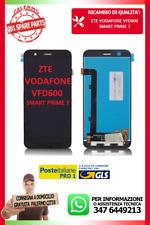 LCD VETRO TOUCH SCREEN DISPLAY PER   VFD 600 NERO ZTE