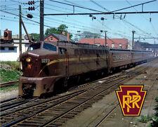 Pennsylvania Railroad Baldwin Sharknose Sturdy Metal Sign Logo Photo