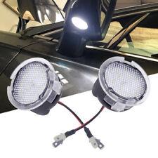 2Stk LED Seitenspiegel Pfütze Lichter für Lincoln MKZ MKS MKX MKT Navigator Weiß