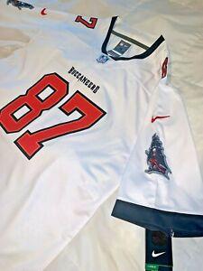 30% off Rob Gronkowski Tampa Bay Buccaneers #12 Men M L XL 2XL White Jersey