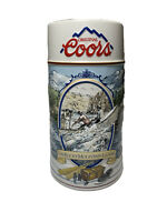 "1992 COORS 3D Beer Stein Mug Tankard THE ROCKY MOUNTAIN LEGEND Series 24 oz 7"""