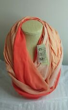 Collection Eighteen Women's Infinity Loop Scarf Key Largo Peach