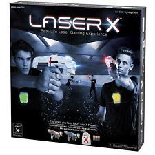 Laser X Shooting Gift Two 2 Player Tag Gaming Set Vest Sport Bag Play Fun Gun