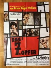Siebte Opfer (Kinoplakat/Filmplakat '64) - Hansjörg Felmy / B. E. Wallace