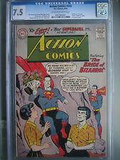 Action Comics #255 CGC 7.5 1959 1st app Bizarro-Lois Lane
