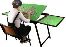 jigsaw puzzle storage folding tilting drawer table 1500 1000 pcs mat board plate