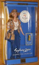 Barbie Doll Sydney Olympic Collector 2000 NRFB Mattel Barbie Collectibles Pin