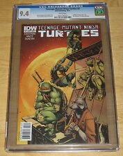 Teenage Mutant Ninja Turtles #3A (10/2011, IDW) Eastman Waltz 1st Print CGC 9.4