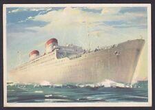 PIROSCAFO CONTE GRANDE 02 CONTE BIANCAMANO - NAVE MARINA SHIP Cartolina