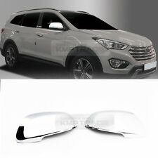 Chrome Side View Mirror Molding Cover Trim C474 for HYUNDAI 2013-2018 Santafe DM