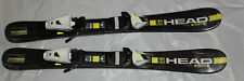 Kids skis 87cm with new size adjustable bindings HEAD pair cool  NEW