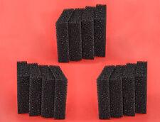 Juwel Compact compatible: 12 Carbon Sponge Filter Pads Bioflow 3.0  Bioflow M