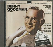 BENNY GOODMAN - CD -The Yale Archives - Volume 1 - LIKE NEW