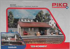 PIKO 61824 Burgstein Goods Shed 00/H0 Plastic Model Rail Kit