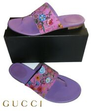GUCCI ~ Floral mules ~ US: 11.5 ; EUR: 42 ; UK: 8 * AUTHENTIC