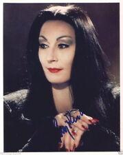ANJELICA HUSTON.. The Addams Family - SIGNED