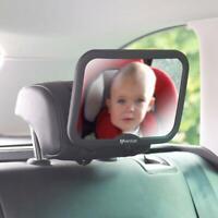Baby Car Mirror Large Adjustable Shatterproof Mirror Rear view baby Mirror